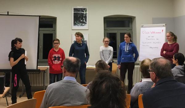 Dresdner Schüler*innen proben die Zukunft